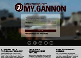 my.gannon.edu