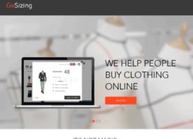 my.gosizing.com