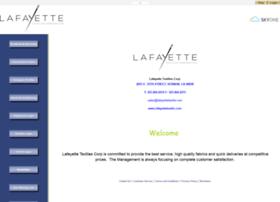 my.lafayettetextile.com