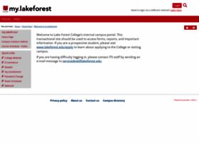 my.lakeforest.edu