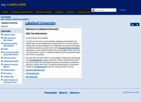 my.lakeland.edu