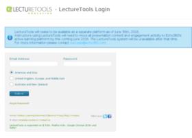 my.lecturetools.com