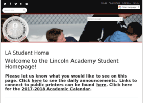 my.lincolnacademy.org