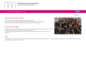 my.macromedia.de