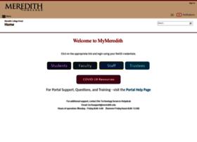 my.meredith.edu