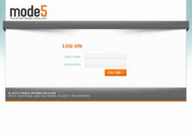 my.mode5.com