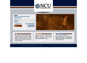 my.ncu.edu