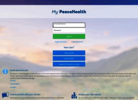 my.peacehealth.org