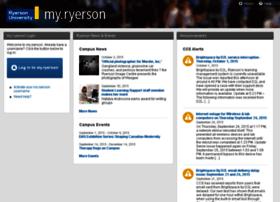 my.ryerson.ca
