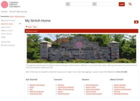 my.stritch.edu