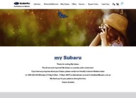 my.subaru.com.au
