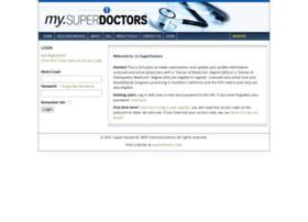 my.superdoctors.com