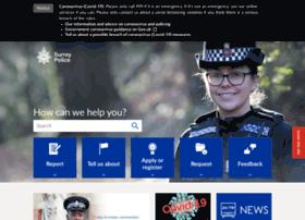 my.surrey.police.uk