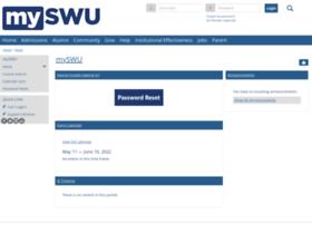 my.swu.edu