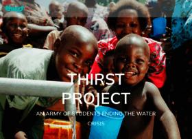 my.thirstproject.org