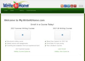 my.writeathome.com