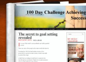 my100daychallenge.com