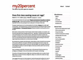 my20percent.wordpress.com