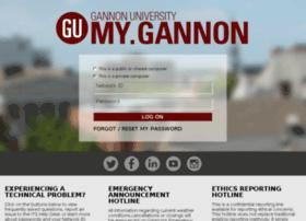 mya.gannon.edu