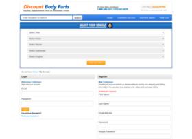 myaccount.discountbodyparts.com