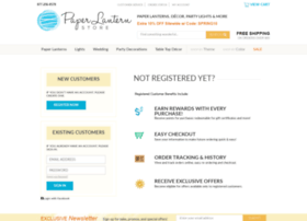 myaccount.paperlanternstore.com