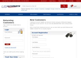 myaccount.usautoparts.net