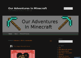 myadventuresinminecraft.wordpress.com