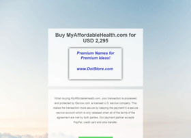 myaffordablehealth.com