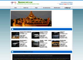 myanmar-rentacar.com