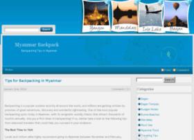myanmarbackpack.com