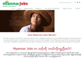 myanmarjobs.co.uk