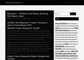 myanmarnationalleague.com