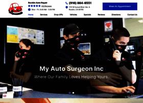 myautosurgeon.com