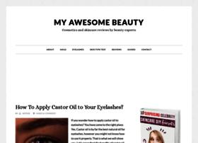 myawesomebeauty.com