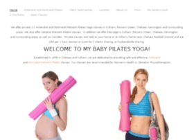 mybabypilates.co.uk