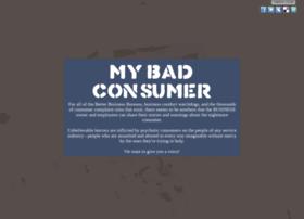 mybadconsumer.com