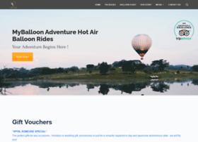 myballoonadventure.com