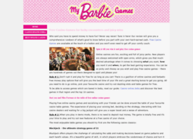 mybarbiegames.co.uk