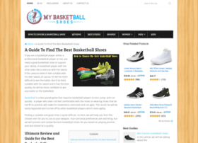 mybasketballshoes.com