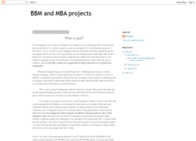 mybbmprojects.blogspot.in