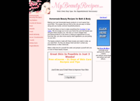 mybeautyrecipes.com