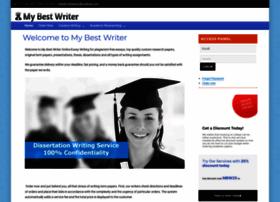 mybestwriter.com