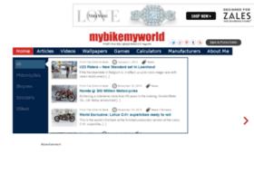 mybikemyworld.com