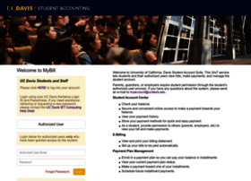 mybill.ucdavis.edu