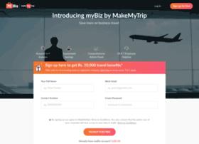 mybiz.makemytrip.com