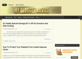 mybloggeradvice.com