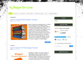 mybloggerservices.blogspot.in