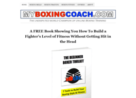 myboxingcoach.com