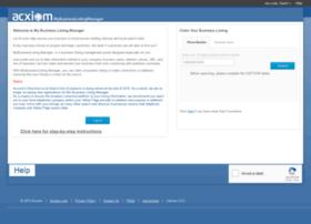 mybusinesslistingmanager.myacxiom.com