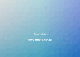 mycamera.co.za